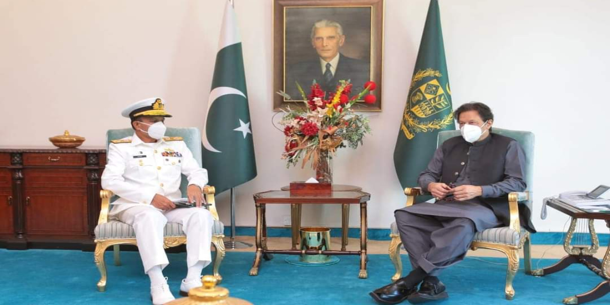 Admiral Amjad Khan and Prime Minister