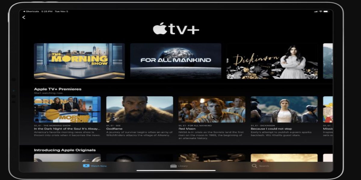 Apple tv+subscription extended