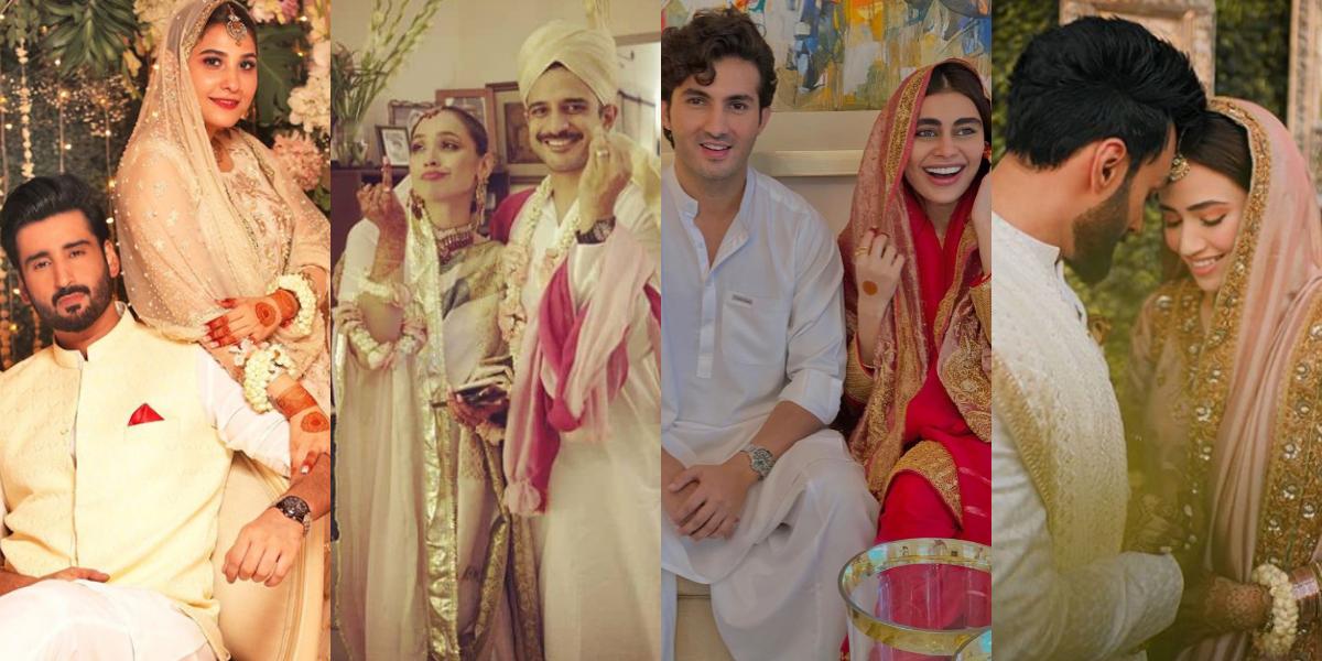 Celebrity couples wedding
