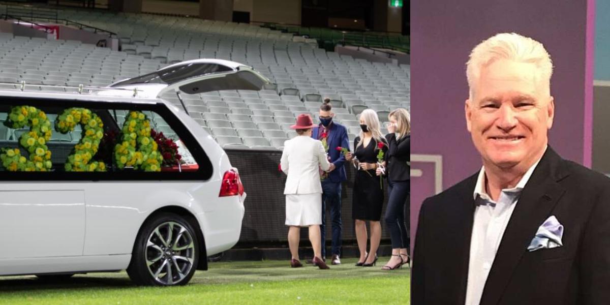 Dean Jones private farewell