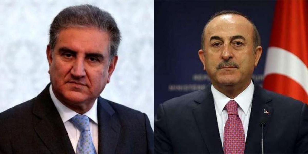 FM Qureshi telephones Turkish counterpart