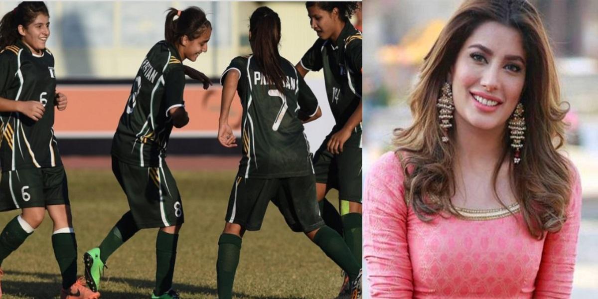 Mehwish Hayat women football team