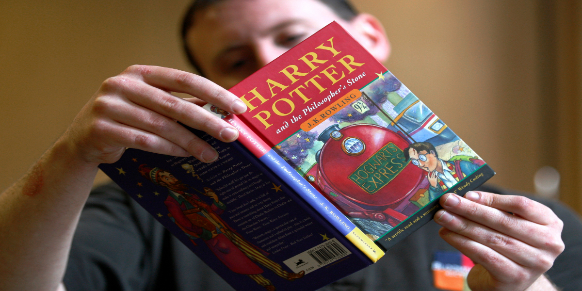 Harry Potter book auctioned