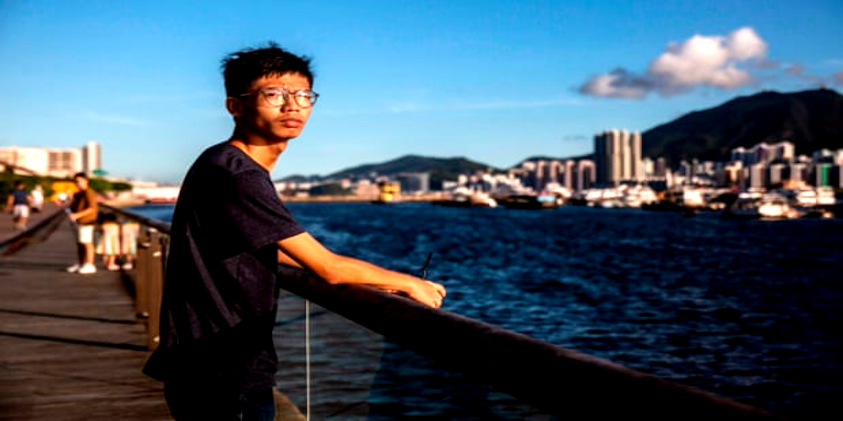 Hong Kong Activist Detained Near US Embassy