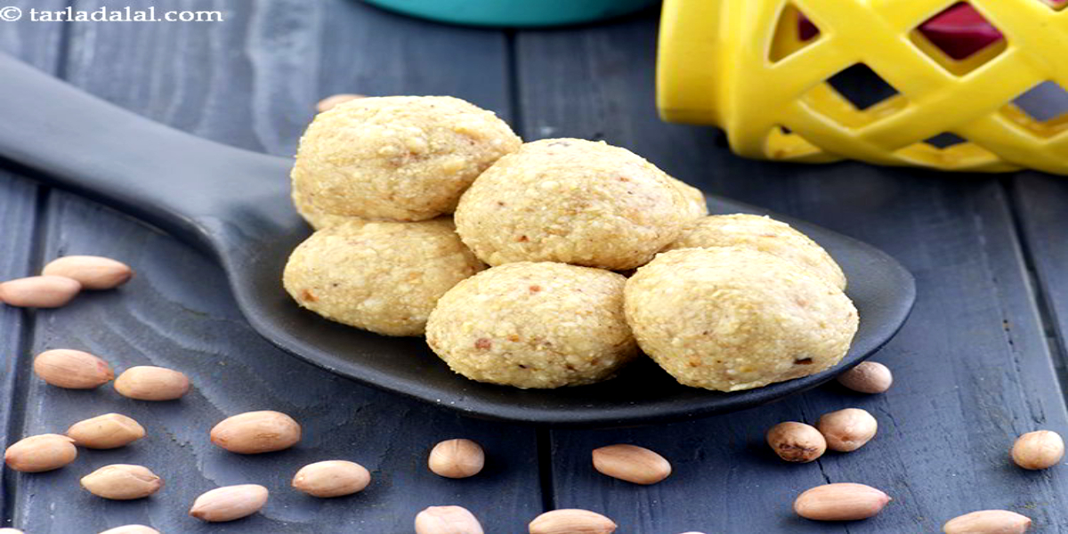 Satisfy your sugar cravings this festive season with the peanut laddoo recipe