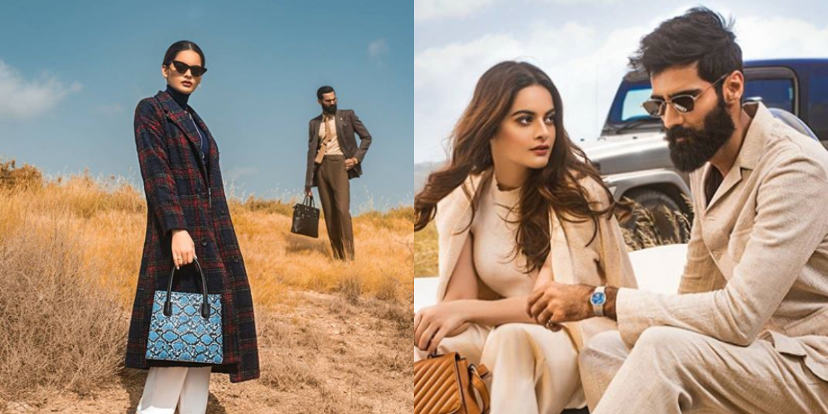 Minal Khan and Hasnain Lehri pictures