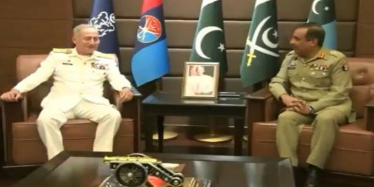 Naval Chief farewell to CJSCS