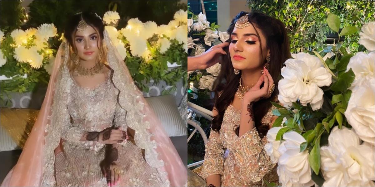 Nimra Ali bridal shoot