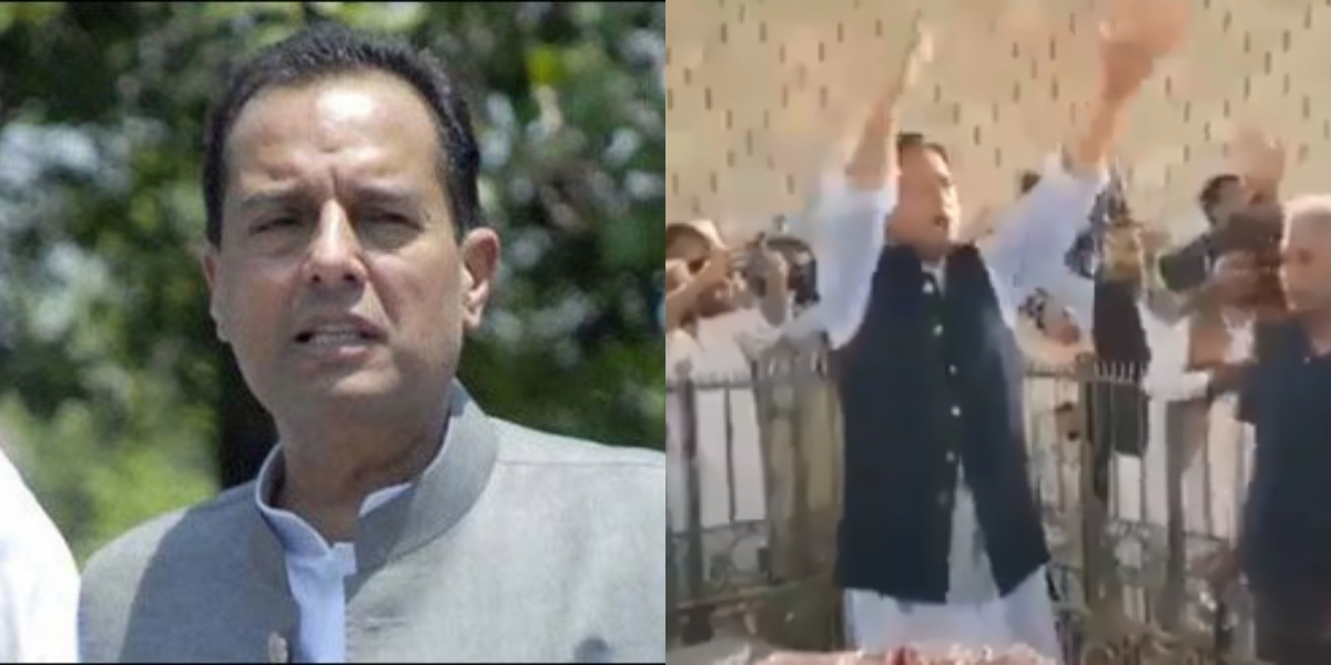 PDM Karachi Jalsa - Captai Safdar disrespects quaid
