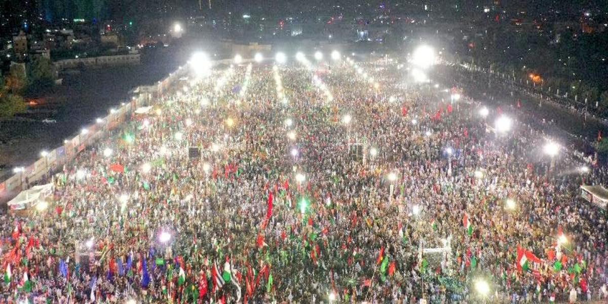 PDM Karachi Jalsa - SOPs violation
