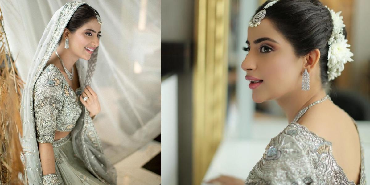 Saboor Aly bridal shoot