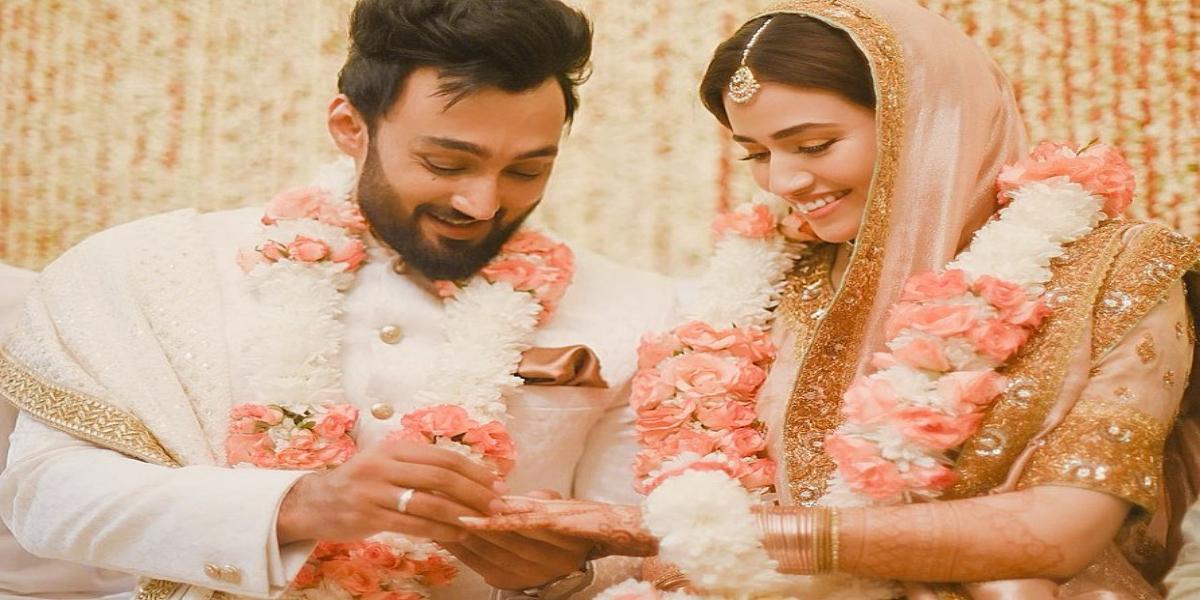 Sana Javed and Umair Jaswal nikkah ceremony