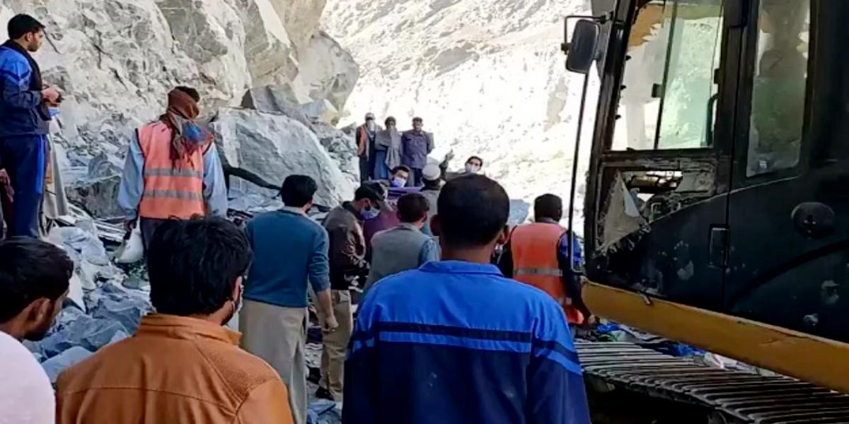 Skardu landslide - 4 soldiers martyred