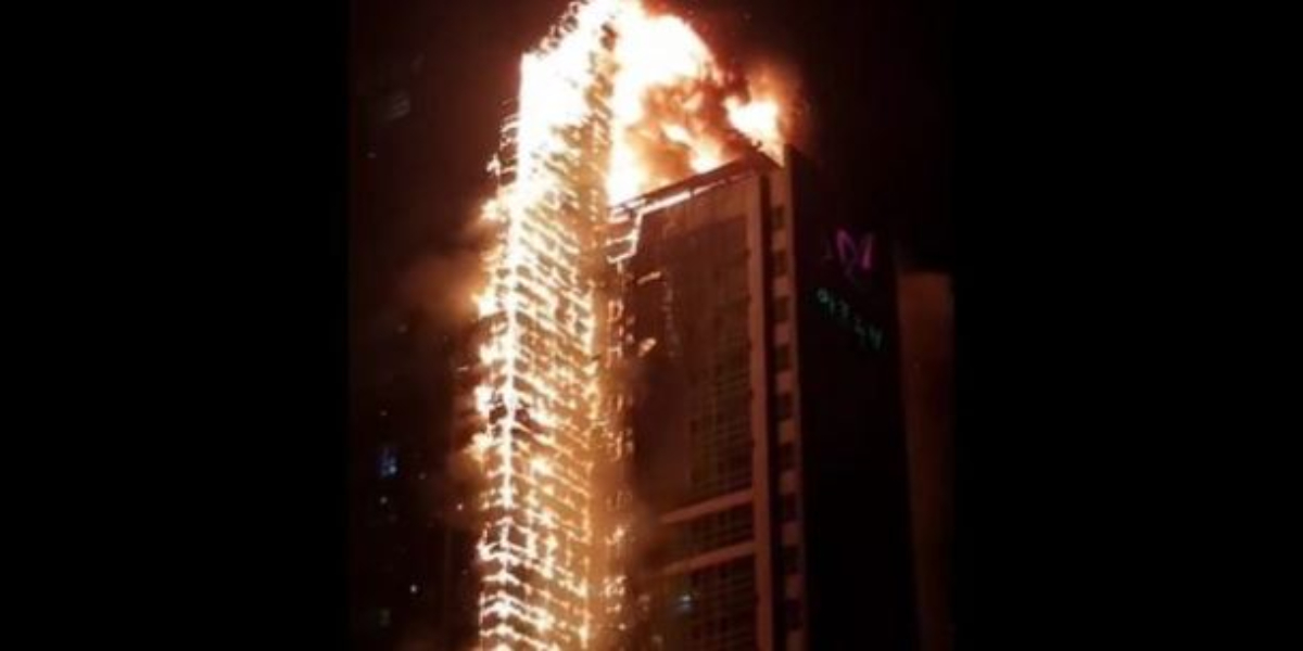 South Korea fire