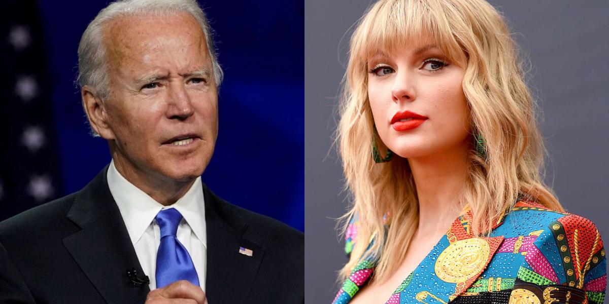 Taylor Swift Joe Biden