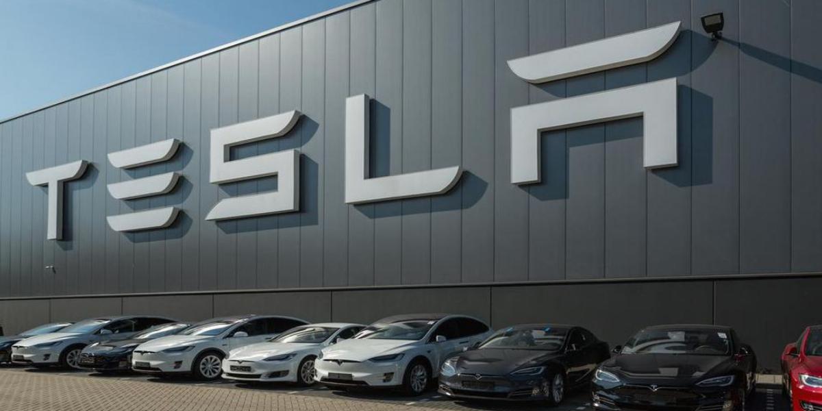 Tesla profit spiked up