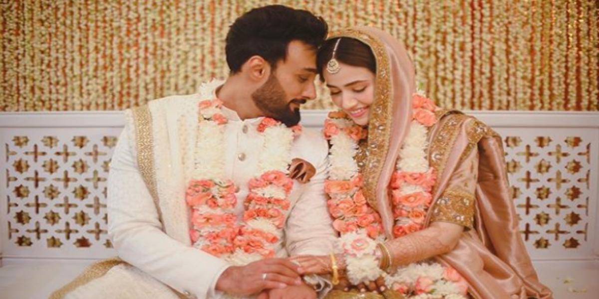 Umair Jaswal tied knot with Sana Javed