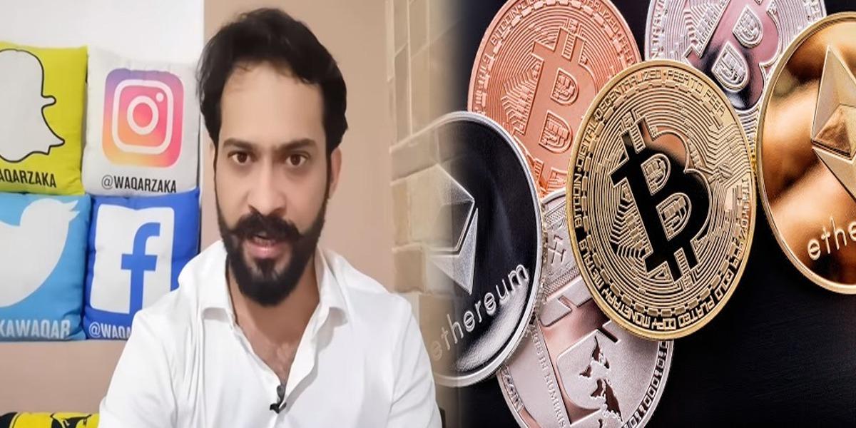 Waqar Zaka cryptocurrency