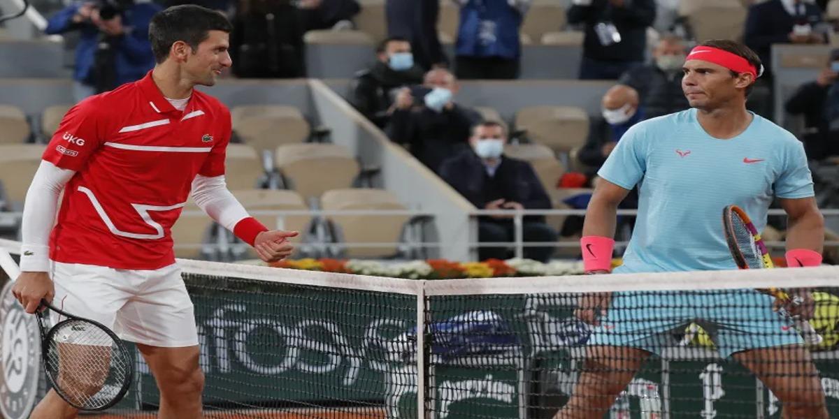 Rafael Nadal beats Novak Djokovic