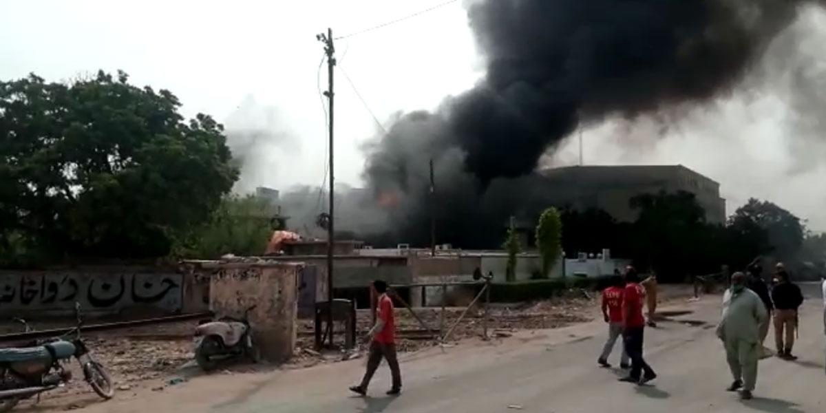 SITE area huge fire