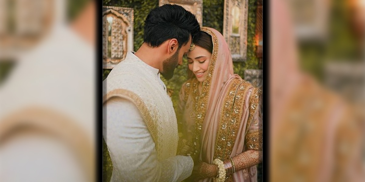 Sana Javed and Umair Jaswal nikkah