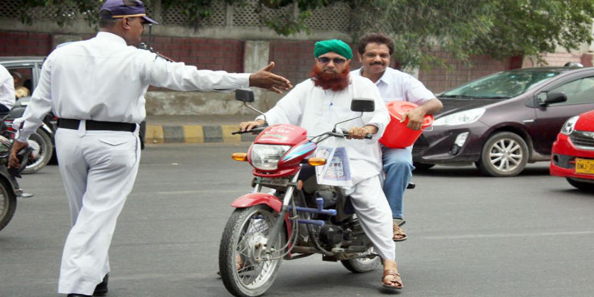 12th Rabi-ul Awwal: Traffic plan