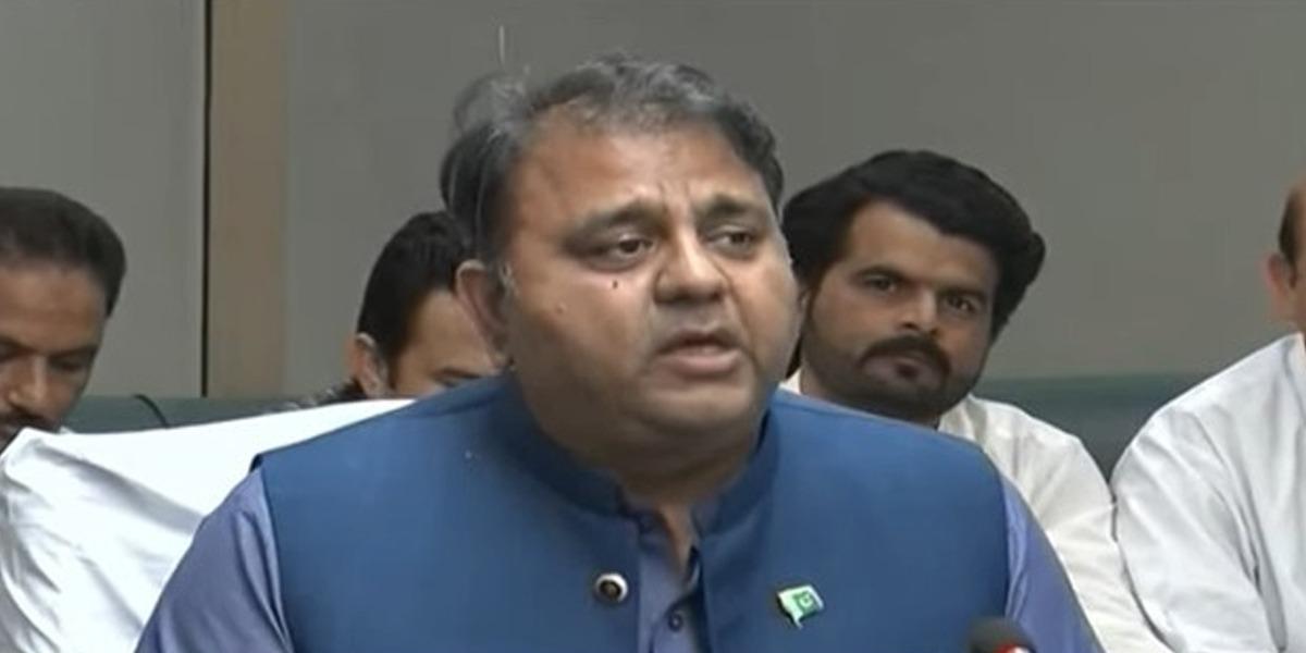 Nawaz Sharif's Speech Aim To Blackmail Institutions: Fawad Chaudhry