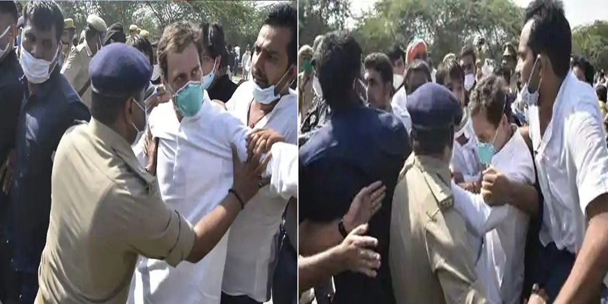 Rahul Gandhi Arrested On His Way To Visit Gang Rape Victim's Family