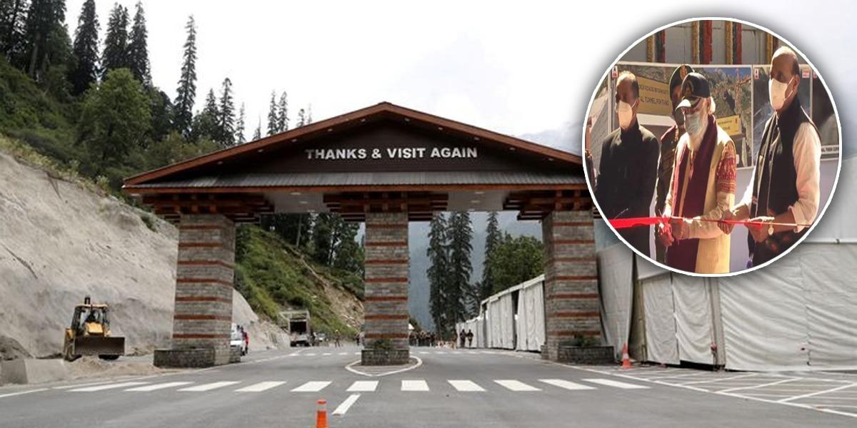 Modi Inaugurates Himalayan Tunnel Near China-India Disputed Territory
