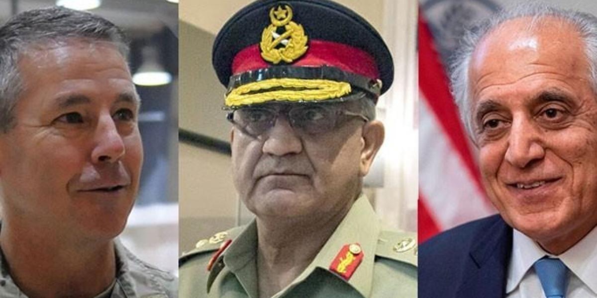 COAS Calls on Zalmay Khalilzad, General Austin Scott Miller