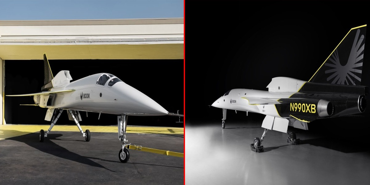 Boom Supersonic Introduces Aircraft That Travels 2X Faster Than Sound