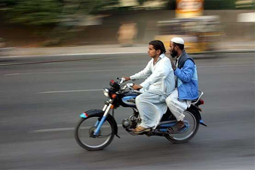 Pillion Riding Banned In Islamabad Ahead Of Milad-un-Nabi
