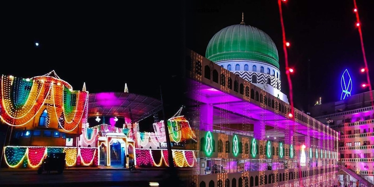 Eid Milad-un-Nabi Is Being Celebrated With Religious Ardour