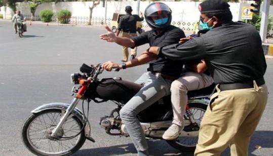 Sindh Lockdown: Ban On Pillion Riding Lifted In Karachi