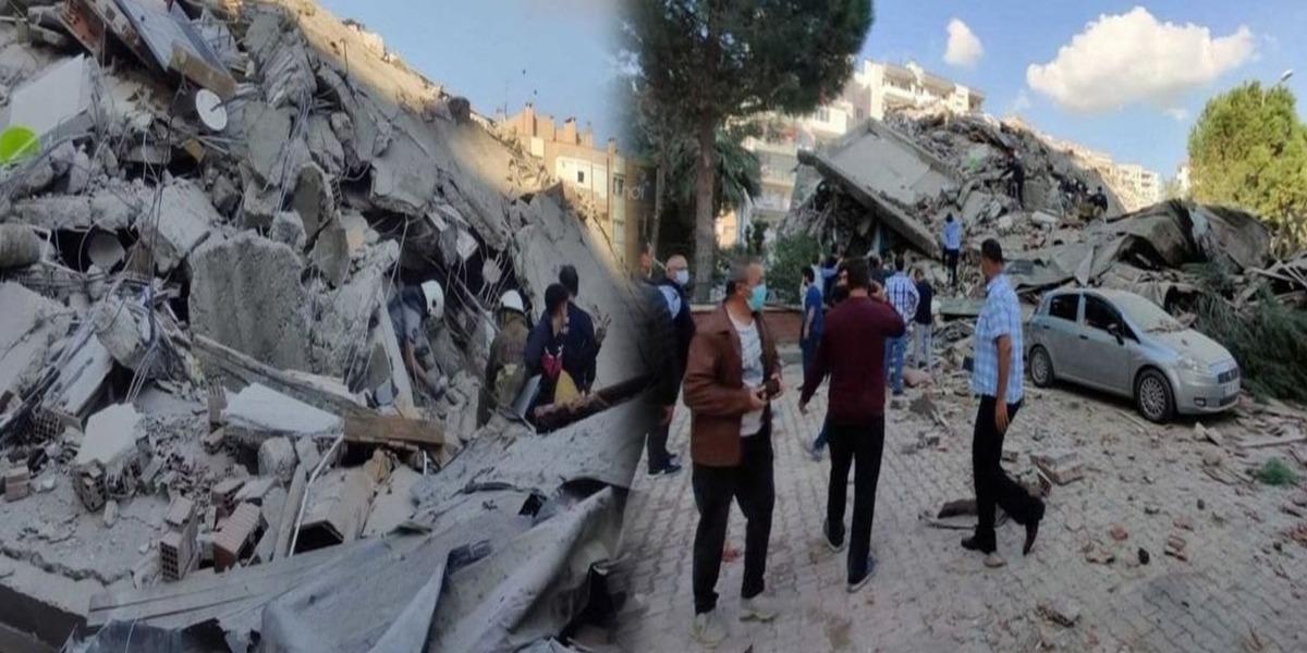 Powerful Earthquake Shakes Buildings In Turkey