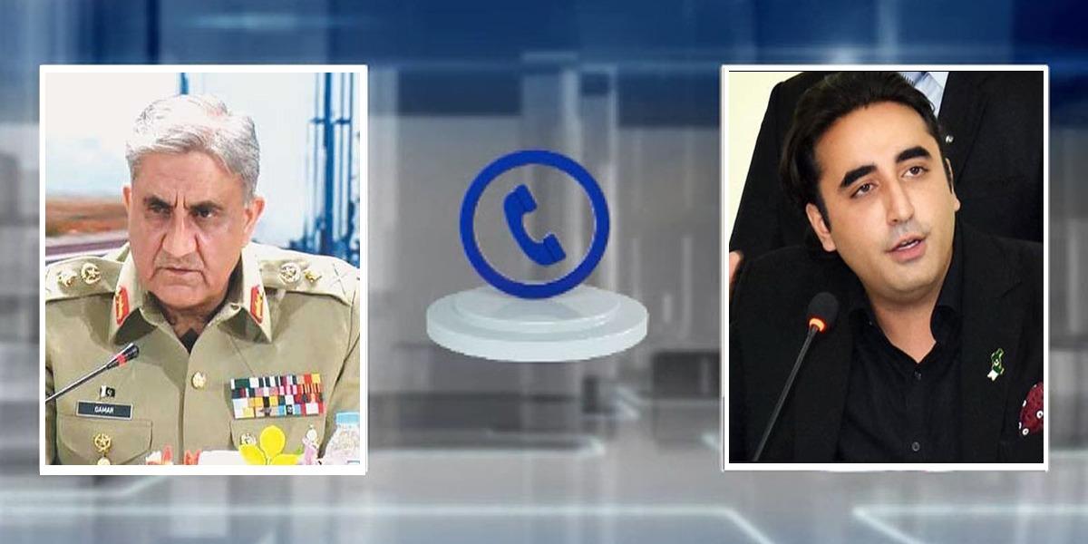 COAS Telephones Bilawal To Discuss Karachi Incident