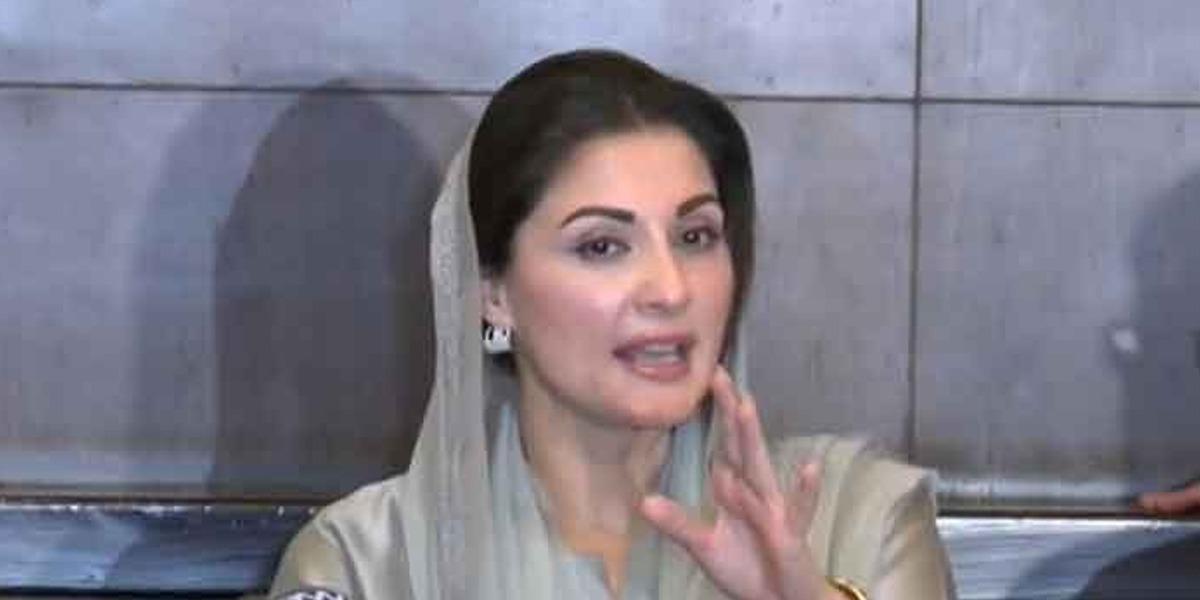 Maryam Nawaz accuses PTI-led government
