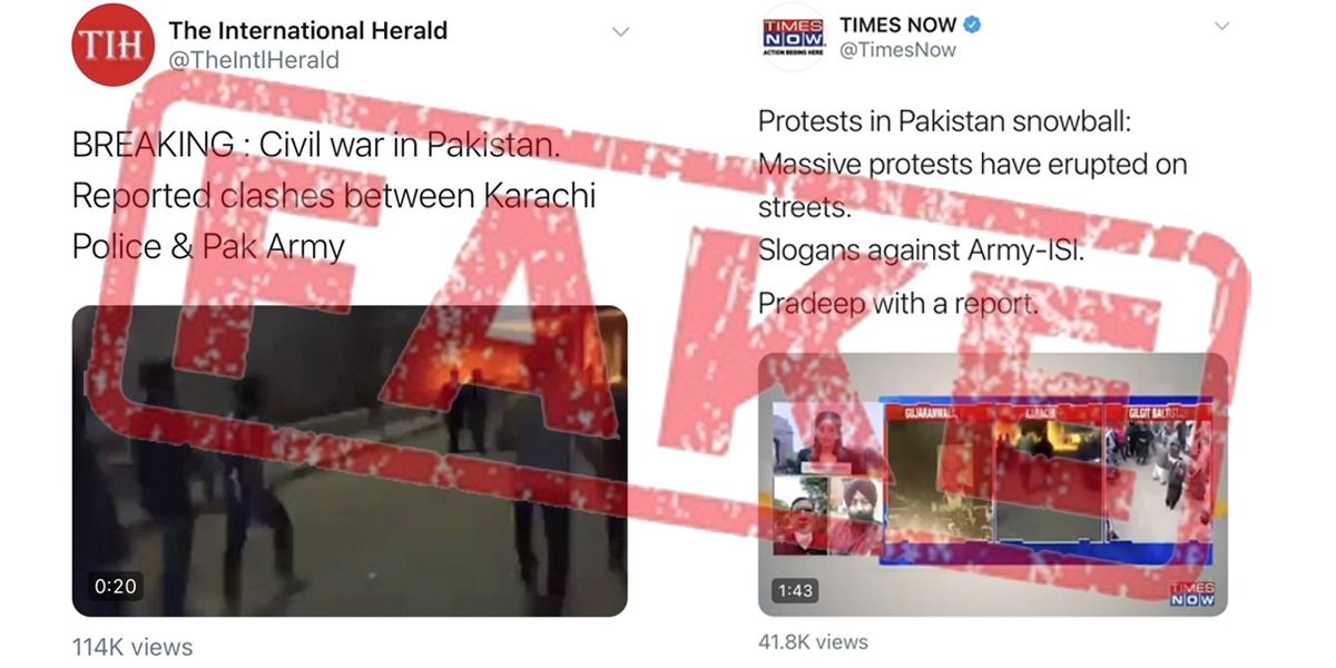 Indian Media Faces Humiliation Over False Claims Of 'Civil War' In Pakistan