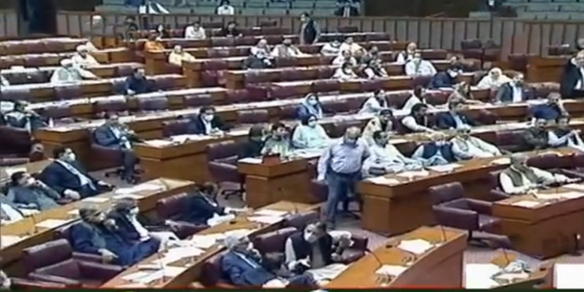 NA Session: 3 Bills Including CPEC Authority Passed Amid Opposition Protest