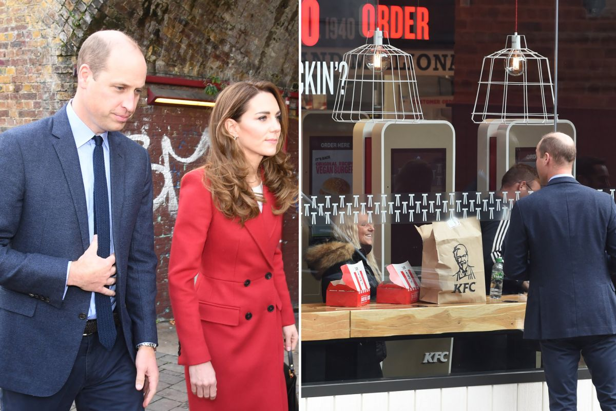 Prince William Trolled For Peeking Inside A Renowned Food Outlet
