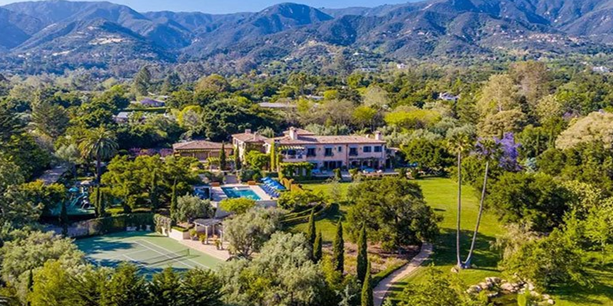 Meghan and Harry Los Angeles Mansion