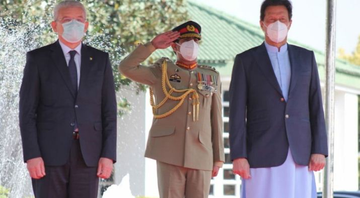 Bosnian leader calls on PM Imran Khan