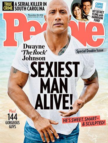 Dwayne Johnson Sexiest Man Alive