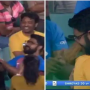 Boy proposes girl during match