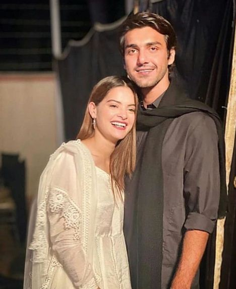 Minal Khan & Ahsan Mohsin Ikram