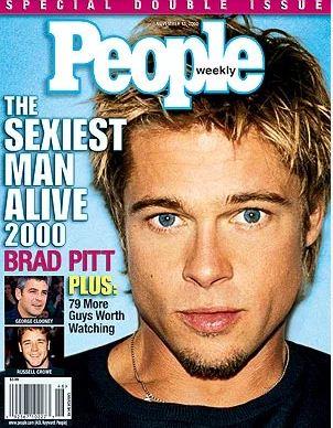 Brad Pitt Sexiest man Alive