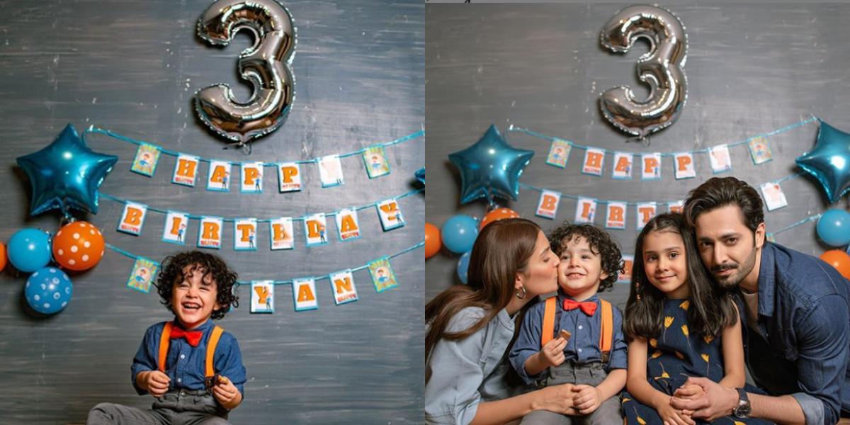 Ayeza Khan son birthday