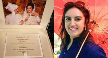 Bakhtawar Bhutto's Engagement