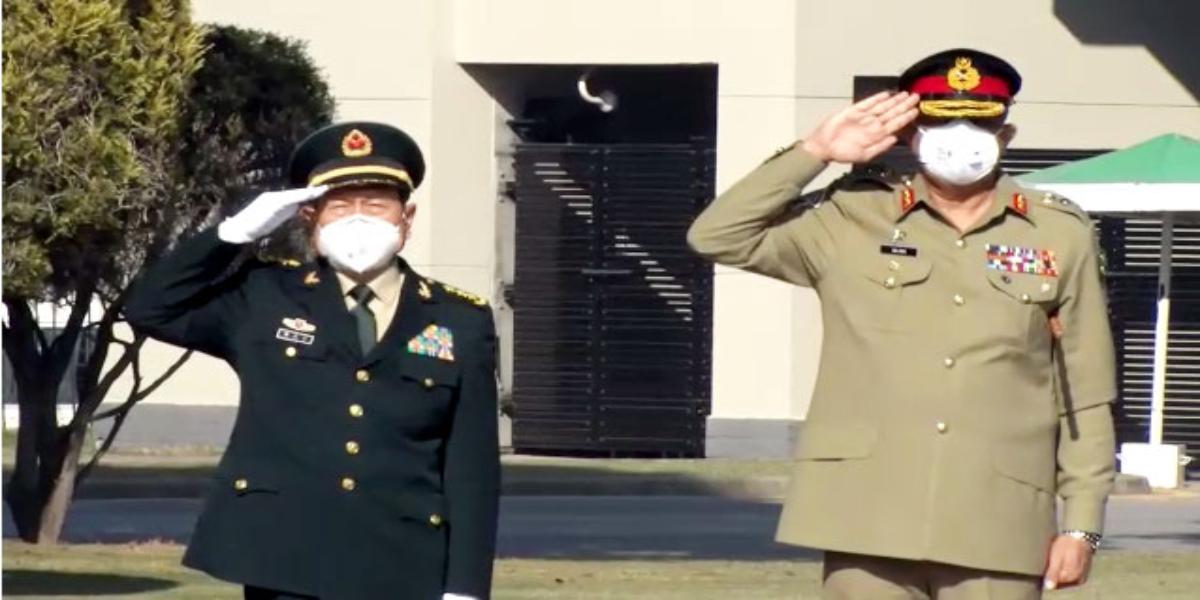 COAS meets China Defence Minister