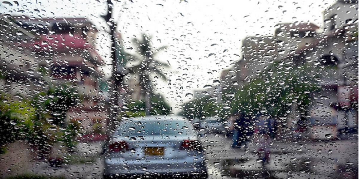 Light rain Karachi met office